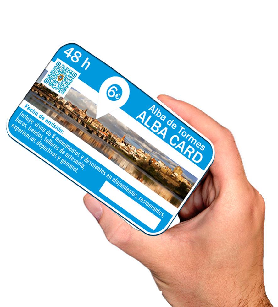 Tarjeta Alba card