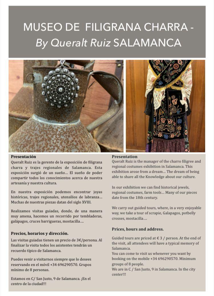 Museo de la filigrana charra en Salamanca